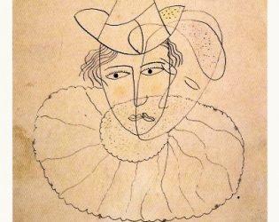 Garca Lorca Payaso De Rostro Desdoblado 1927